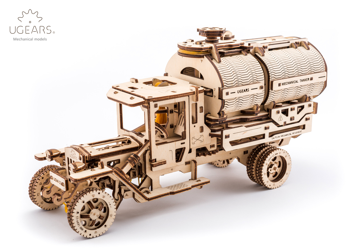 UGEARS Model «Tanker»
