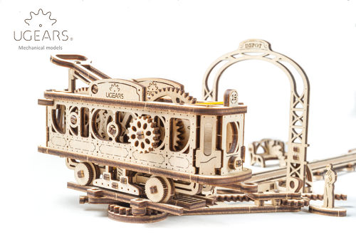 Tram Line Model. Mechanical Town Series