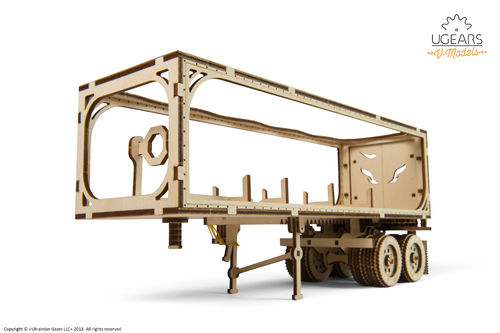 UGEARS Heavy Boy Truck Trailer VM-03