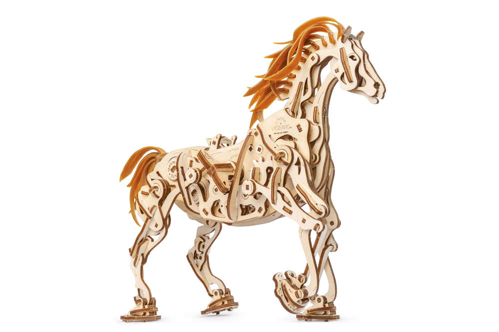 UGEARS Das mechanische Pferd - UGEARS - MECHANISCHE 3D MODELLE
