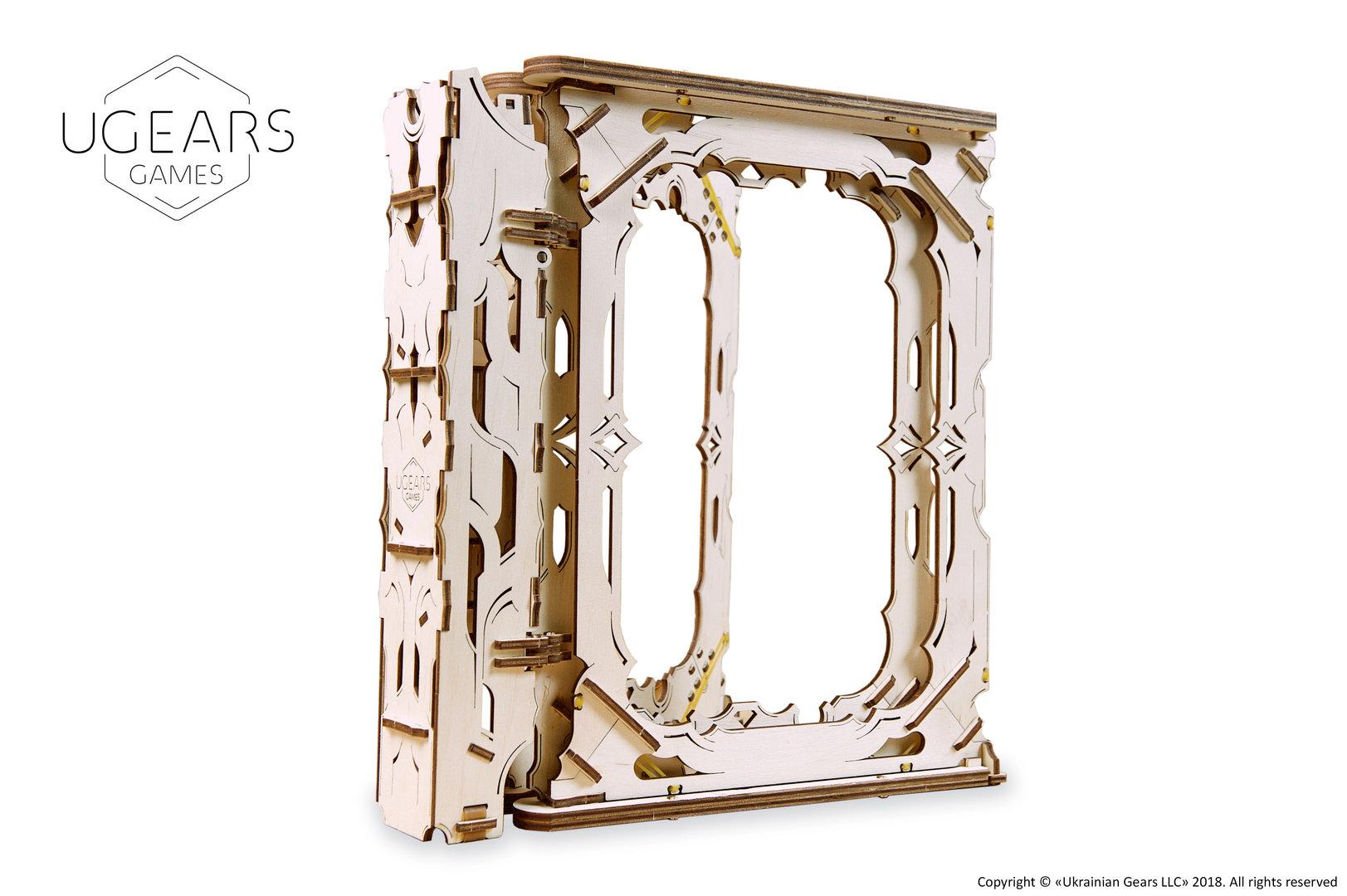 UGEARS Spielleiterschirm mechanische Bausatz Modell